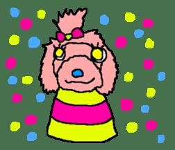 Toy poodle no.1 sticker #2111732