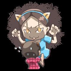 Cat Girl & Bear Boy
