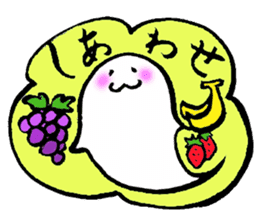 sweet haunted LunLun & Small bird! sticker #2113673