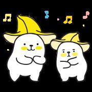 สติ๊กเกอร์ไลน์ Bana & Nana