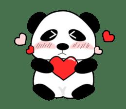 Bashful Panda sticker #2114382