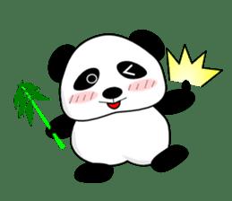 Bashful Panda sticker #2114383
