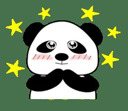 Bashful Panda sticker #2114384