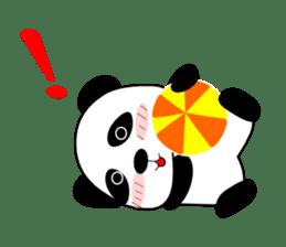 Bashful Panda sticker #2114385