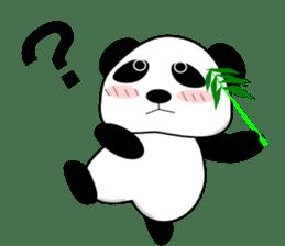 Bashful Panda sticker #2114392