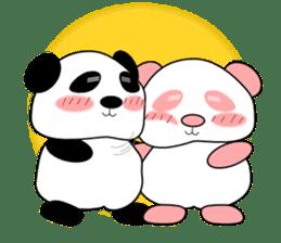 Bashful Panda sticker #2114394