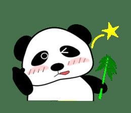 Bashful Panda sticker #2114399