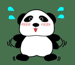 Bashful Panda sticker #2114403
