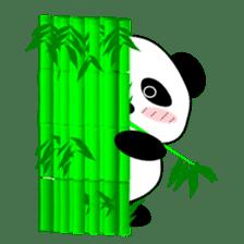 Bashful Panda sticker #2114418