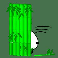 Bashful Panda sticker #2114419