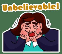 Fat Mama - Yo Mama - English Language sticker #2114917