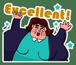Fat Mama - Yo Mama - English Language sticker #2114918