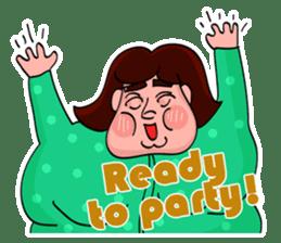 Fat Mama - Yo Mama - English Language sticker #2114939
