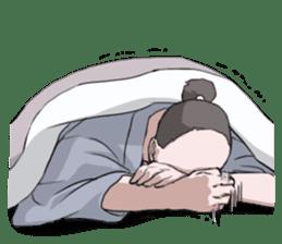 Sleeping TARO sticker #2115045