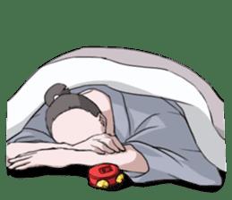 Sleeping TARO sticker #2115059