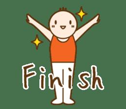 Gymnast (English) sticker #2115343