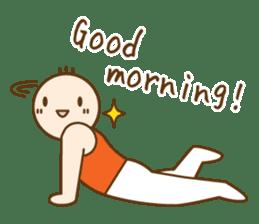 Gymnast (English) sticker #2115347