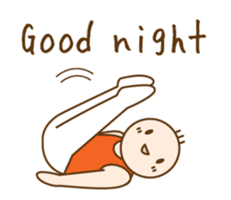 Gymnast (English) sticker #2115348