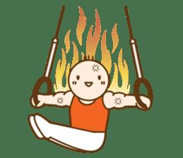 Gymnast (English) sticker #2115358