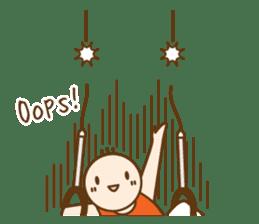 Gymnast (English) sticker #2115361