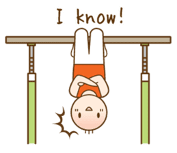 Gymnast (English) sticker #2115373
