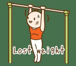 Gymnast (English) sticker #2115375