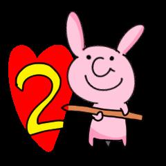 The horn rabbit 2