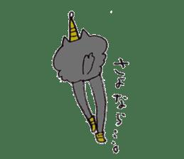 bikyaku-cat sticker #2115839