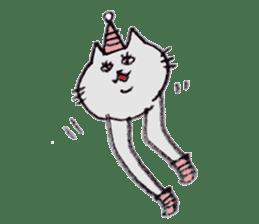 bikyaku-cat sticker #2115841
