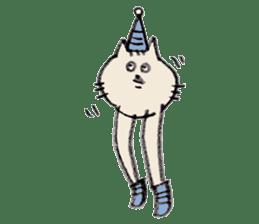 bikyaku-cat sticker #2115844