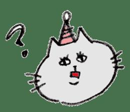 bikyaku-cat sticker #2115845