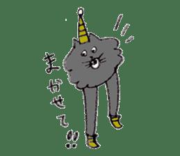 bikyaku-cat sticker #2115860