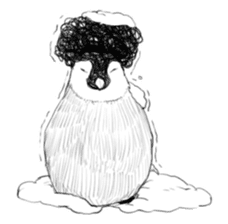 The Afro zoo sticker #2115947