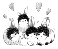 The Afro zoo sticker #2115955