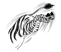 The Afro zoo sticker #2115967