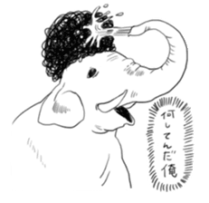 The Afro zoo sticker #2115972