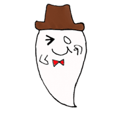 Obakichi of ghost sticker #2116944