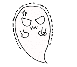 Obakichi of ghost sticker #2116950