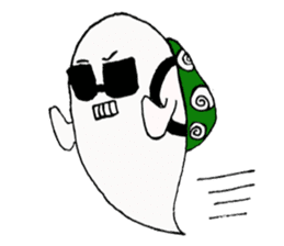 Obakichi of ghost sticker #2116955