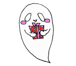 Obakichi of ghost sticker #2116974
