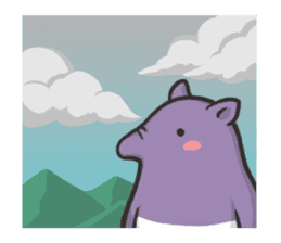 Tapir and Koala sticker #2117450