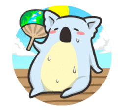 Tapir and Koala sticker #2117458