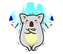 Tapir and Koala sticker #2117460