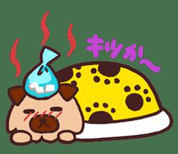 Michael a hybrid dog living in Hakata 2 sticker #2118131