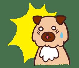Michael a hybrid dog living in Hakata 2 sticker #2118135
