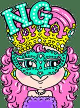 naughty little princess LAMY sticker #2118302