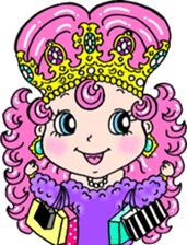naughty little princess LAMY sticker #2118329