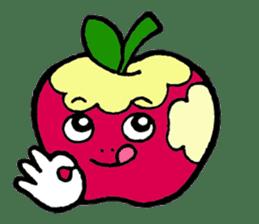 Mr.apple Ms.apple sticker #2119501