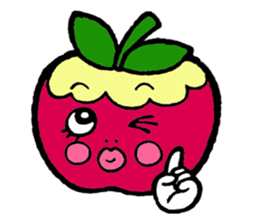 Mr.apple Ms.apple sticker #2119502