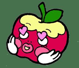 Mr.apple Ms.apple sticker #2119507